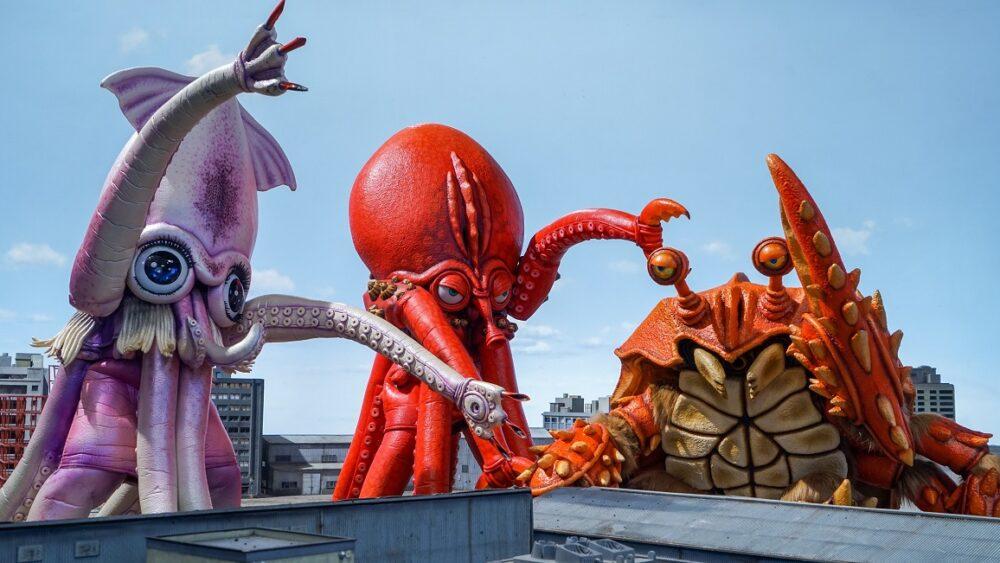 Monster Seafood Wars