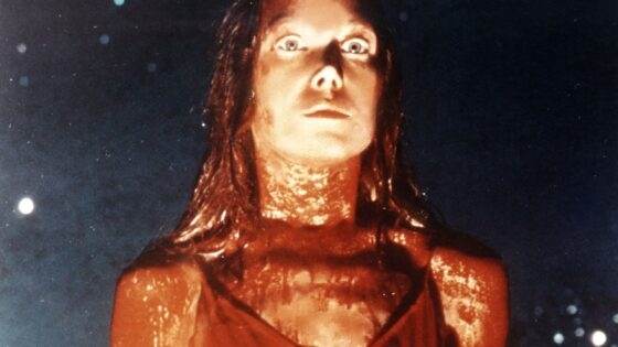 Carrie White Covered In Blood