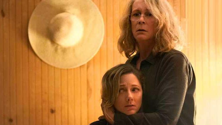 Laurie and Karen Strode