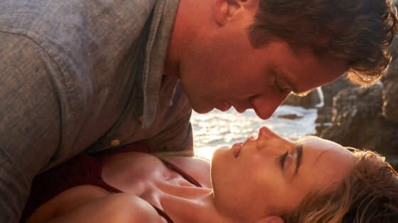 "Armie Hammer and Lily James in ""Rebecca"""