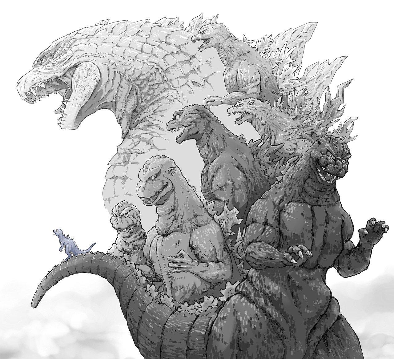 Godzilla Movie Series