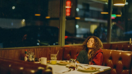 "Zendaya on the special episode of ""Euphoria"" (HBO)"