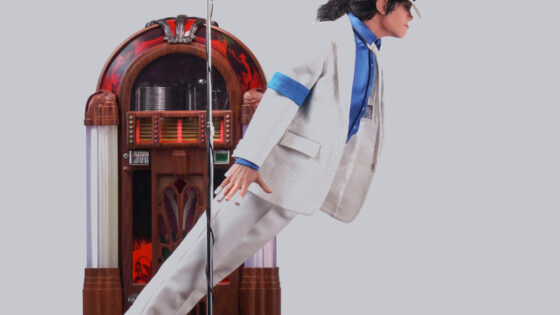 Smooth Criminal Statue