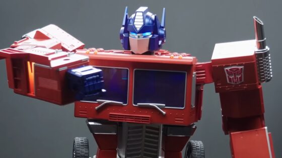 The Voice Controlled, Self-Transforming Optimus Prime
