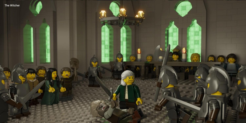 UK Toy Website Masterfully Recreates Netflix Shows with LEGO
