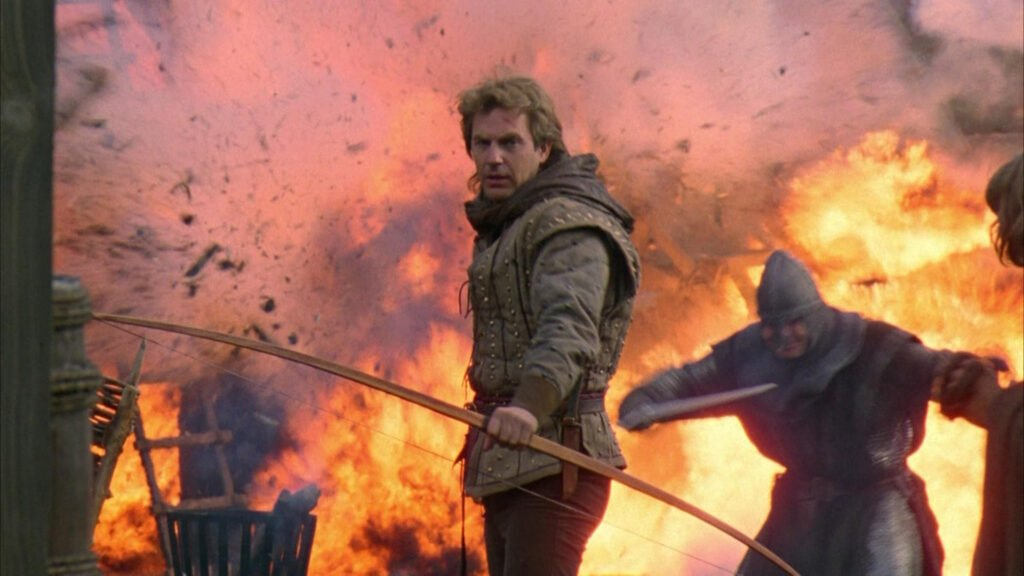 Robin Hood in Prince of Thieves