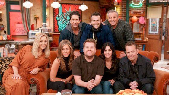 Friends Cast Joins James Corden For Carpool Karaoke