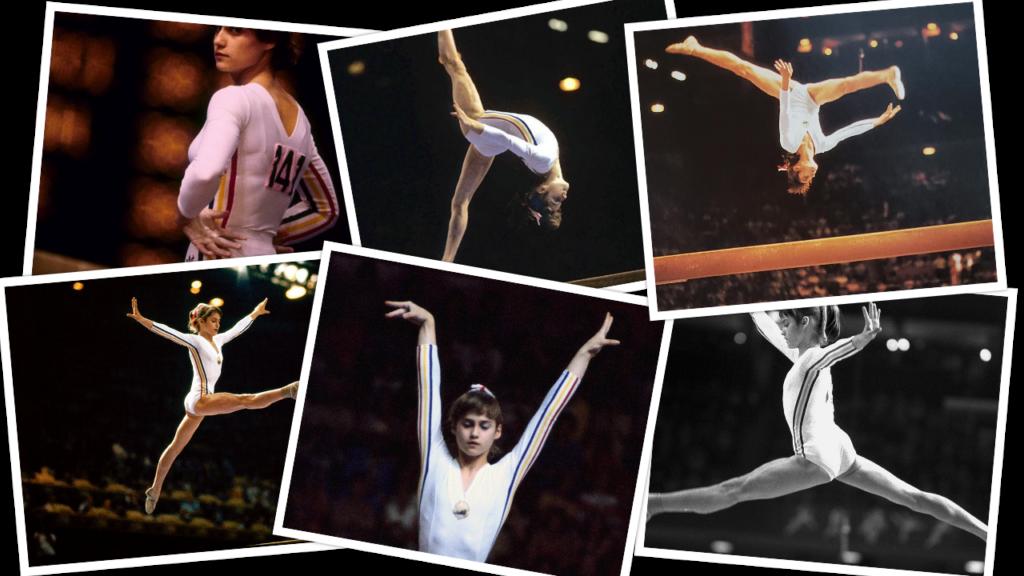 Nadia Comaneci Montreal 1976 Summer Olympics