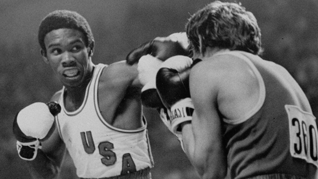 Montreal 1976 Olympics USA Boxing Team Sugar Ray Leonard