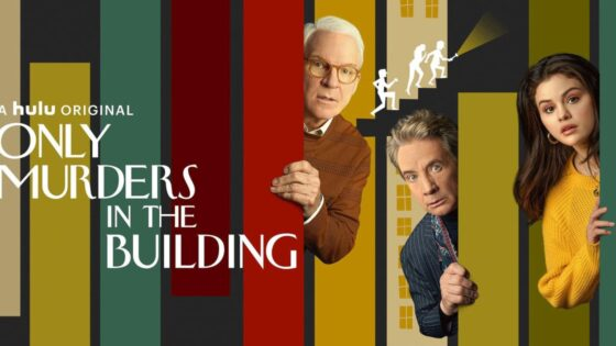 Hulu only murders in the building poster