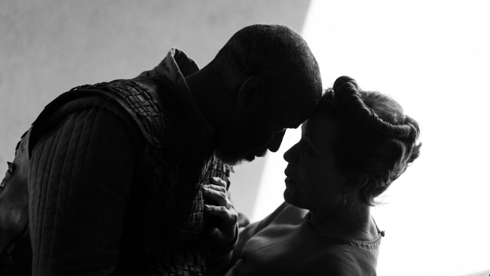 Denzel Washington, FDenzel Washington and Frances McDormand rances McDormand in The Tragedy of Macbeth